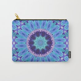Lily Kaleidoscope Mandala A263 Carry-All Pouch