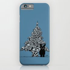 The Black Bunny of Doom and his Skull Christmas tree Slim Case iPhone 6s