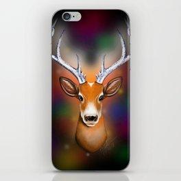 Christmas Woodland Beast iPhone Skin