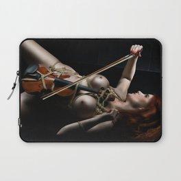 Nude Violin - Fine Art of Bondage Laptop Sleeve
