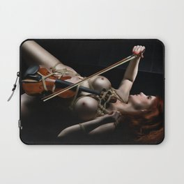 Nude Violin - Fine Art of Bondage Laptop Sleeve