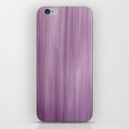 Abstract Painterly Effect in Purple iPhone Skin