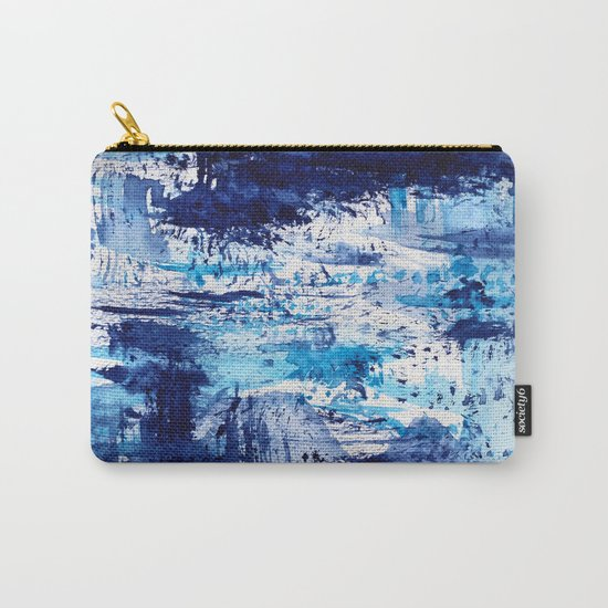 Blue passion || watercolor Carry-All Pouch