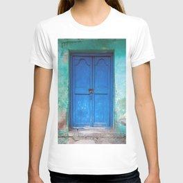 Blue Indian Door T-shirt
