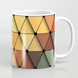 Colorful triangular grid Coffee Mug