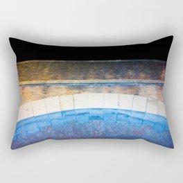 The Blue Brigde Rectangular Pillow