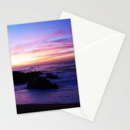 Beautiful sunrise in Los Cabos Mexico Stationery Cards