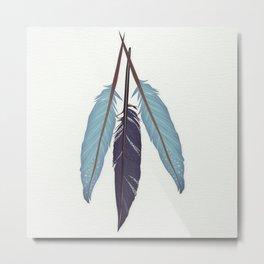 If I had wings Metal Print