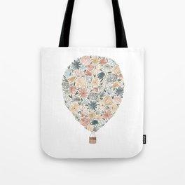 Floral Balloon Tote Bag