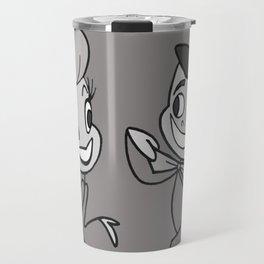 Lucy & Desi Travel Mug