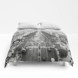 champs-elysées, paris.  Comforters