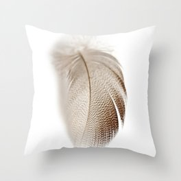 Mallard Feather Throw Pillow