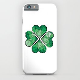 Geometrick lucky charm iPhone Case