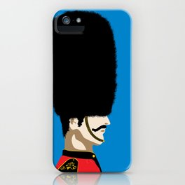 Grand mustache Beefeater iPhone Case