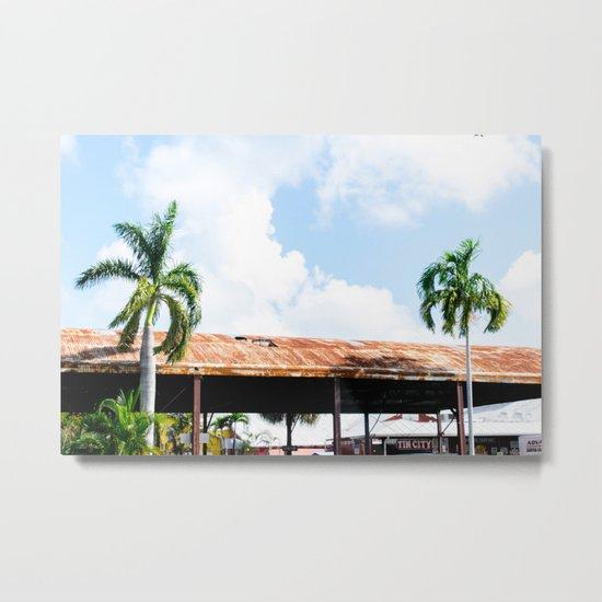 Rusted Roof Metal Print