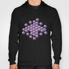 Cubes and stars Hoody