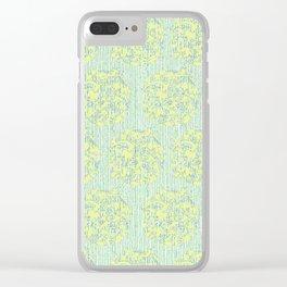 Sweetpea Clear iPhone Case
