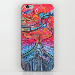 Thought Eruptions iPhone Skin