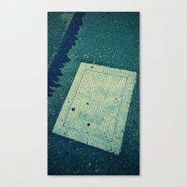 Electric Access - Retro Canvas Print