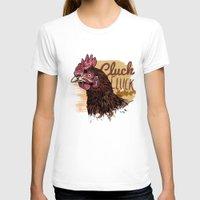 chicken T-shirts featuring Chicken by Conal Deeney