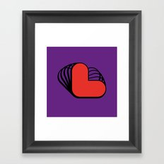 L like L Framed Art Print