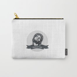 Jesus Disrupts Carry-All Pouch