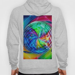 Abstract in perfection - Time is running Hoody