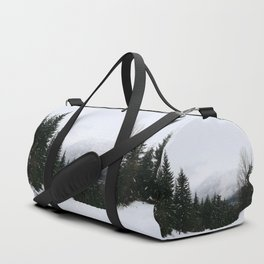 Mist between mountains Duffle Bag