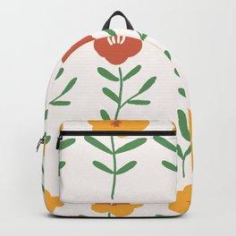 'My little yellow flower' - Gouache paint Backpack