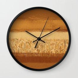 Wheaten Wall Clock