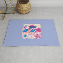 Colours of summer 1 -Abstract pattern Rug