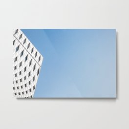 Blue Sky and Architecture Metal Print