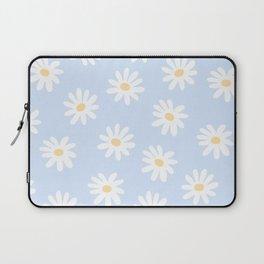 Daisies Baby Blue Laptop Sleeve