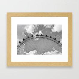 Pods in the Sky   Framed Art Print