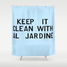 Keep It Clean With Al Jardine Shower Curtain