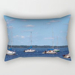 Summer On The Lake Rectangular Pillow