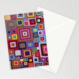 cozy crochet  Stationery Cards