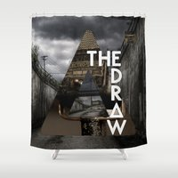 bastille Shower Curtains featuring Bastille - The Draw #2 by Thafrayer