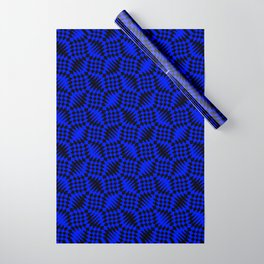 Blue shells Wrapping Paper
