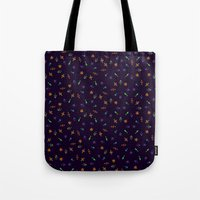 sparkles Tote Bags featuring Sparkles by DanBee Kim