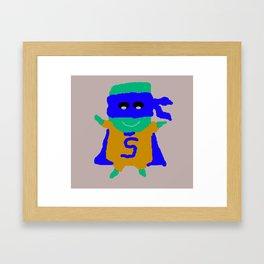 Super Spam 2 Framed Art Print