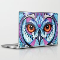 frozen Laptop & iPad Skins featuring Frozen by Ola Liola