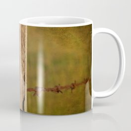 Barbed wire fence Coffee Mug