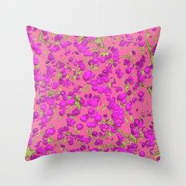 Roses liana flowers Throw Pillow