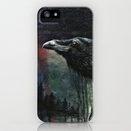 Flying Over the Forest iPhone Case