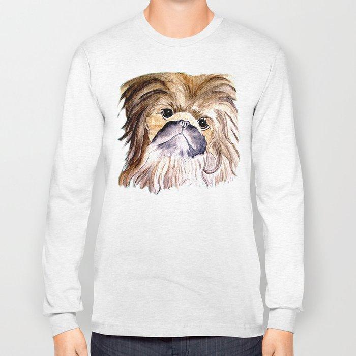 Pekingese love Dogs Long Sleeve T-shirt