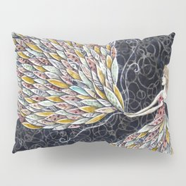 She Fancied a sky full of Feathers Pillow Sham