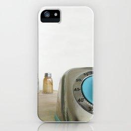 retro timer iPhone Case