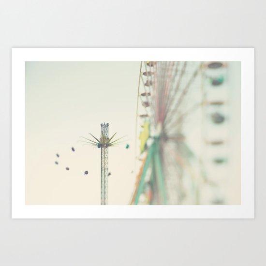 the last days of summer ... Art Print