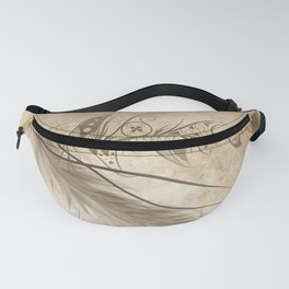 Bohemian Feather Fanny Pack